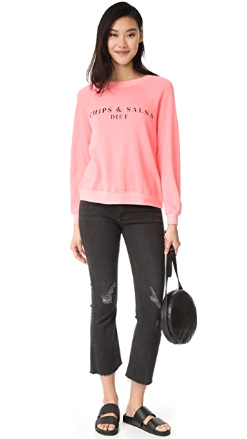 Wildfox Chips & Salsa Sweatshirt