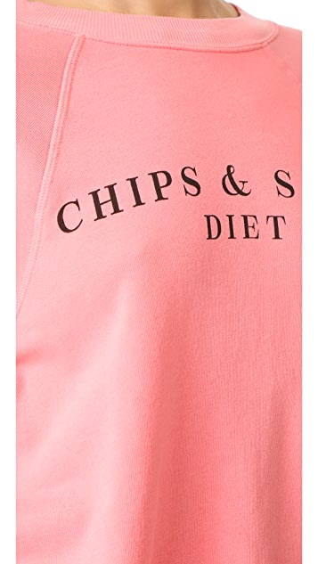 Wildfox Chips & Salsa Sweatshirt