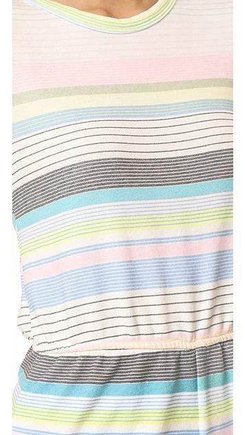 Wildfox Beach Towel Stripe Romper