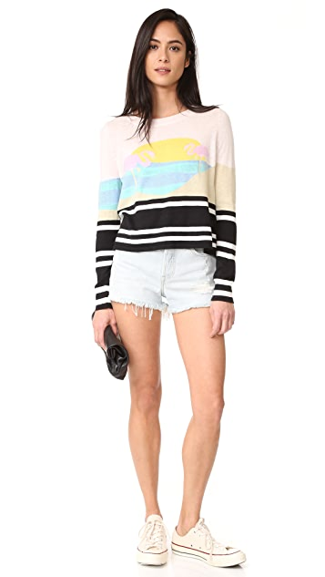 Wildfox Harbour Sunset Sweater