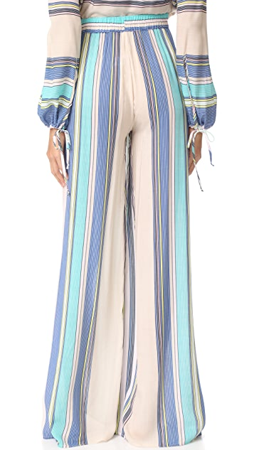 Wildfox Nikia Provenzano x Wildfox Boardwalk Stripe Havana Pants