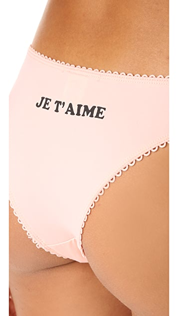 Wildfox Love Me Three Times Panty Pack