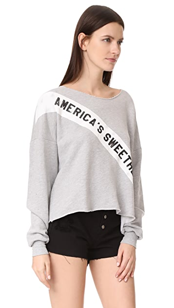 Wildfox Americas Sweetheart Sweatshirt