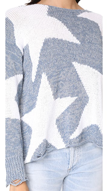 Wildfox Lucky Stars Phantom Sweater