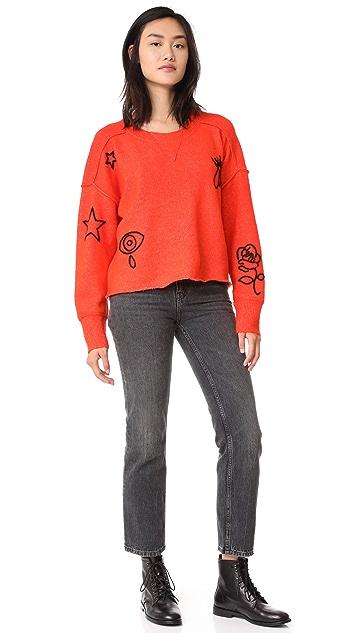 Wildfox Alchemy Icons Gate Sweater