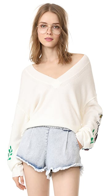 Wildfox Shrine Sweater