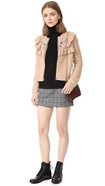 Wildfox Bed of Roses Elliot Jacket Cardigan
