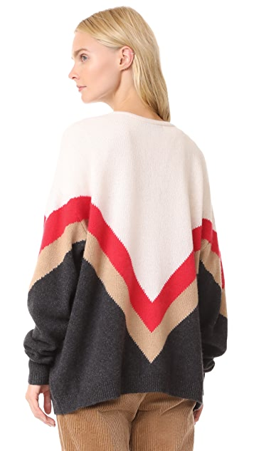 Wildfox Team Spirit Vanish Cardigan