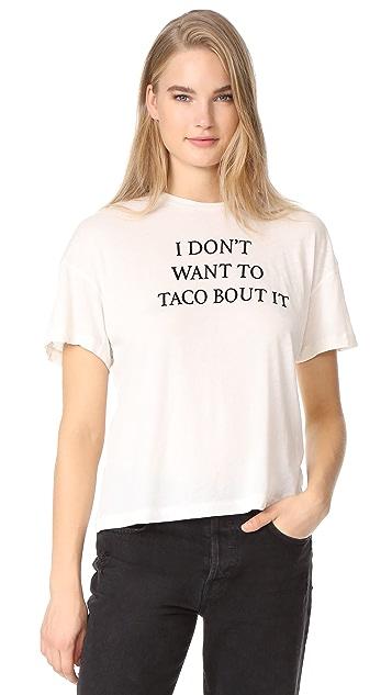 Wildfox Taco Talk Sonic Tee