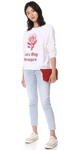 Wildfox Let's Stay Strangers Sweatshirt Tee