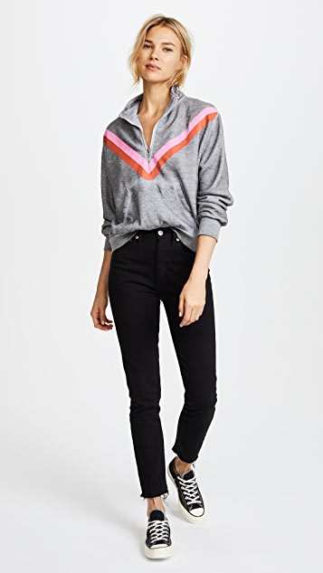 Wildfox Sweetheart Track Stripe Jacket