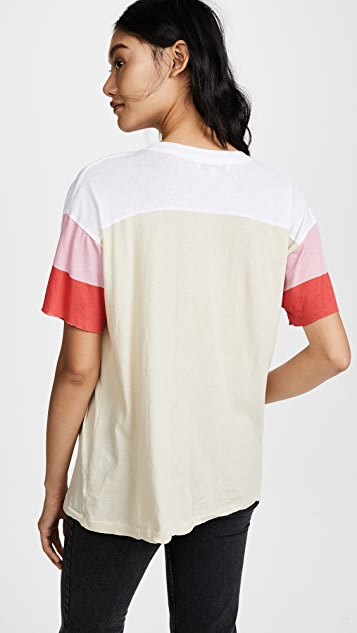Wildfox Pinhole Trenton Football Tee