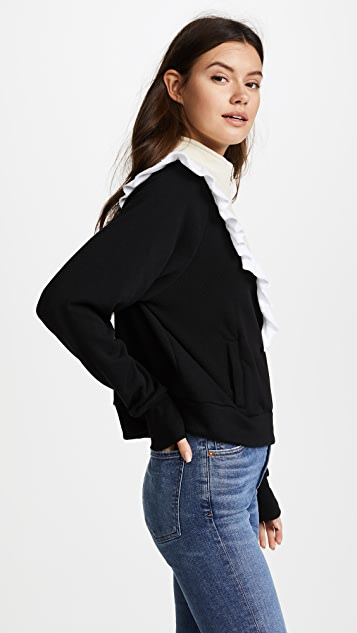 Wildfox Prima Warm Up Pullover