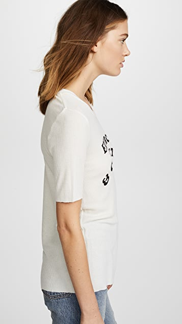 Wildfox Exercise & Cocktails Seer Tee