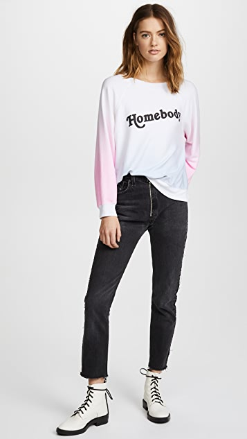 Wildfox Homebody Sommers Sweater Top
