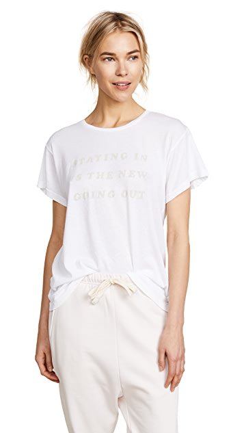 Wildfox Let's Stay in Manchester Tee