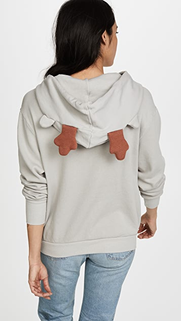 Wildfox Helper Fleece Hoodie