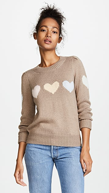 Wildfox Full Hearts Sweater