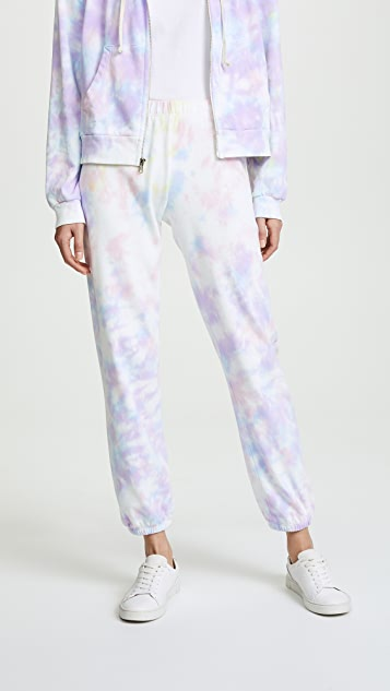 Wildfox Easy Sweatpants - Aura Tie Dye