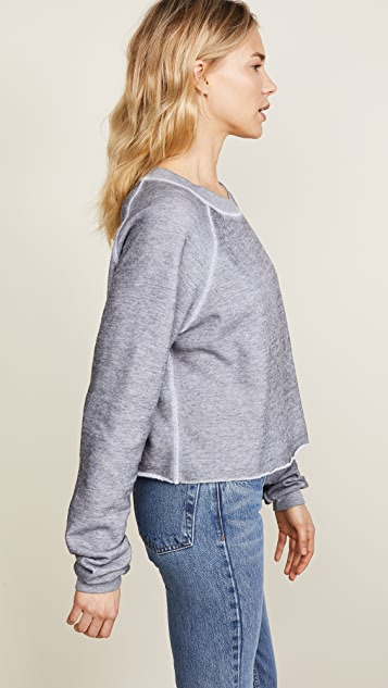 Wildfox Monte Crop Sweatshirt