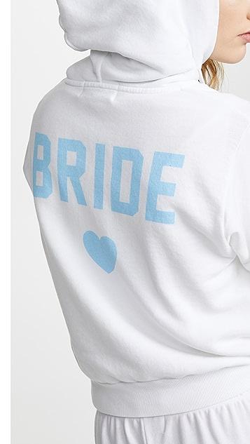 Wildfox Bride Zip Up Hoodie