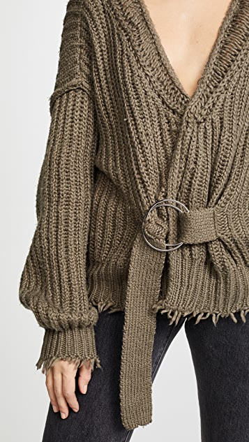 Wildfox Citadel Wrap Sweater