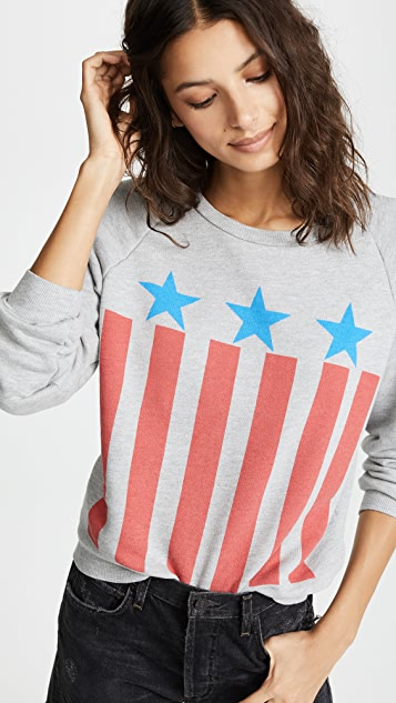 Wildfox Allstar Junior Sweatshirt