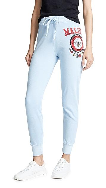 Wildfox Malibu Crest Jack Jogger Pants