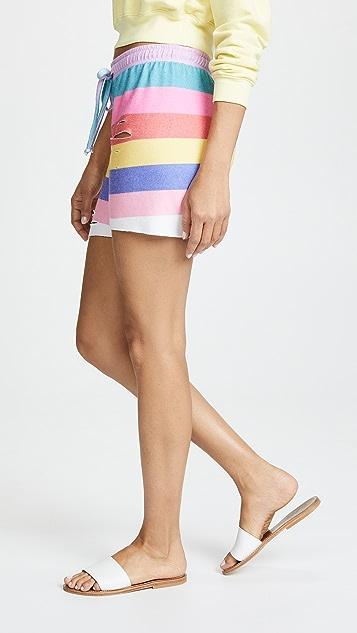 Wildfox Castaway Stripe Shorts