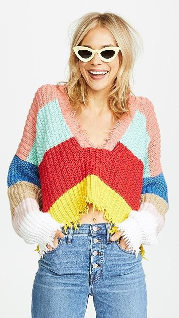 Wildfox Andros Palmetto Sweater