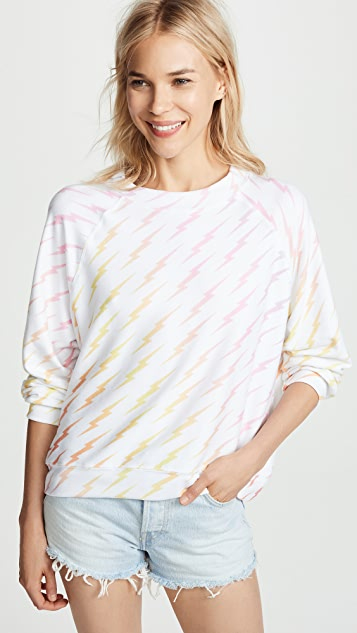 Wildfox Bolt Gradient Sommers Sweater