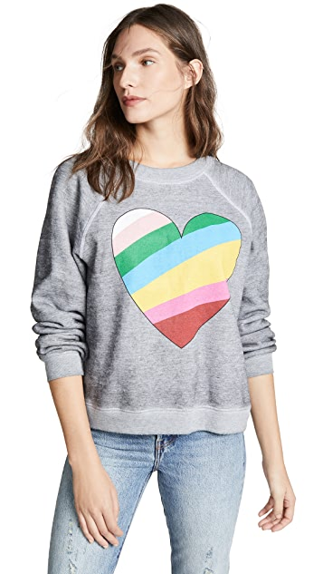 Wildfox In Love Sommers Sweatshirt