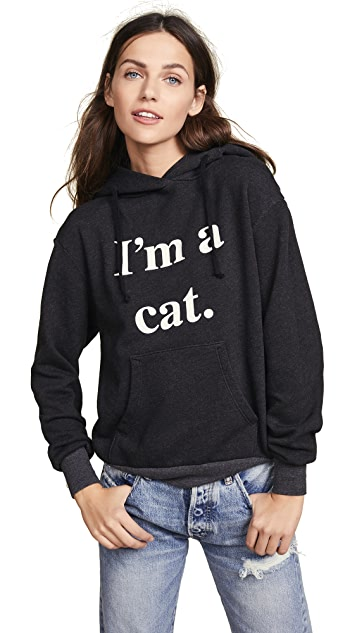Wildfox I'm A Cat Hoodie