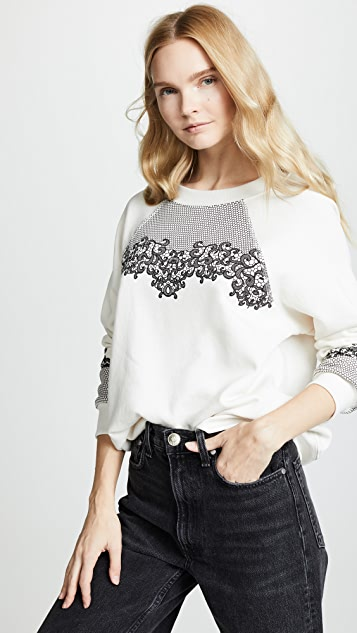 Wildfox Chantily Lace Sommers Sweater