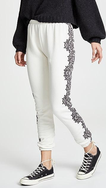 Wildfox Chantilly Lace Knox Pants