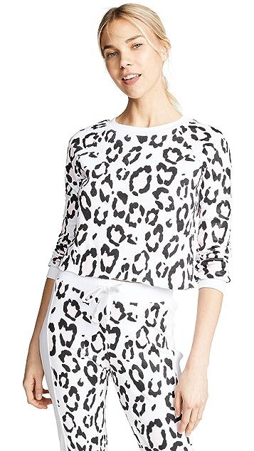 Wildfox Blush Leopard Hoodie