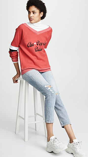 Wildfox Au Revoir Baby Sweatshirt