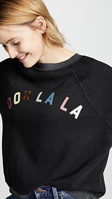 Wildfox Толстовка с надписью «Oh La La»