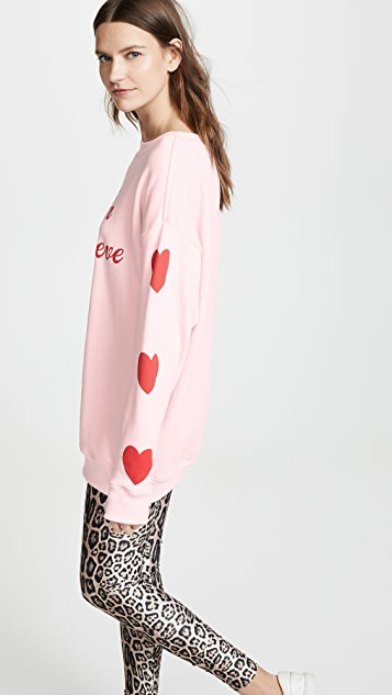 Wildfox Толстовка Heart On My Sleeve