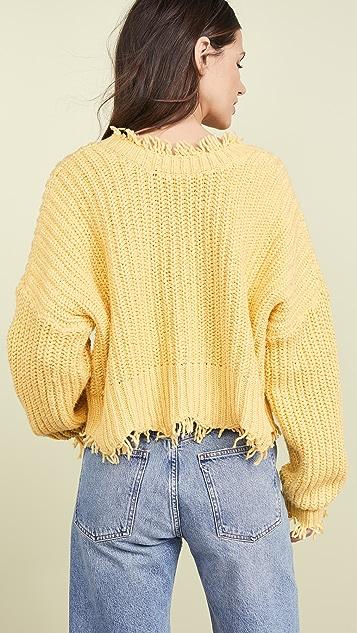 Wildfox Однотонный свитер Palmetto