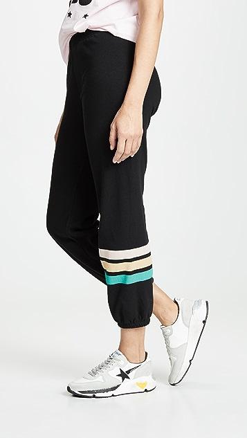 Wildfox Easy Vintage Stripe Sweatpants