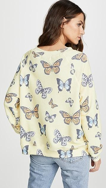 Wildfox Толстовка Flutter Away
