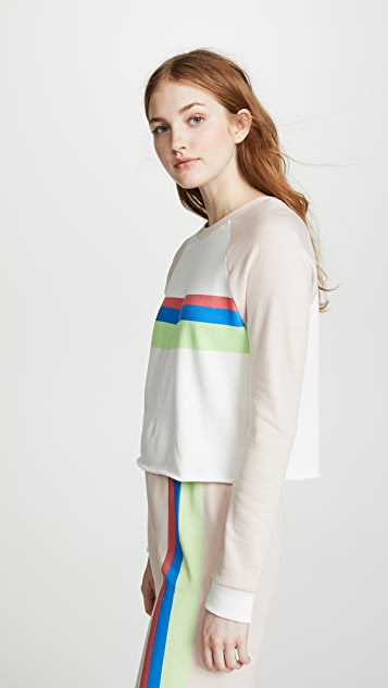Wildfox Beach House Cropped Sweatshirt