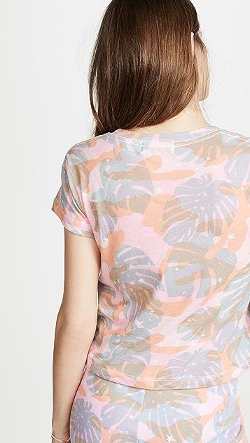 Wildfox Tropic Camo T 恤