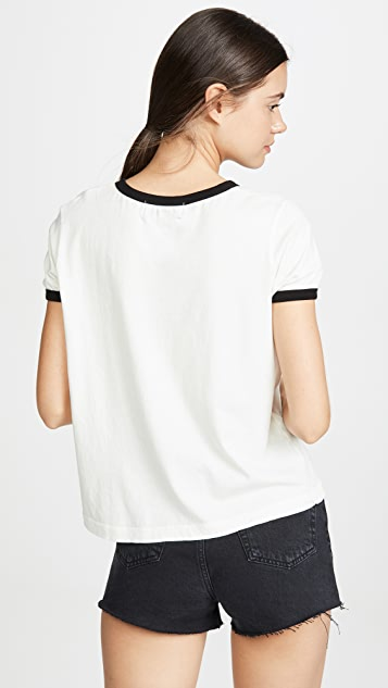 Wildfox The Caymans Ringer Tee