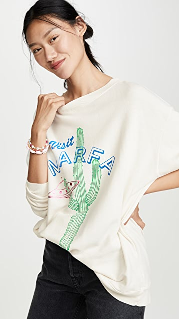 Wildfox Visit Marfa Roadtrip 运动衫