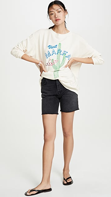 Wildfox Visit Marfa Roadtrip Sweatshirt