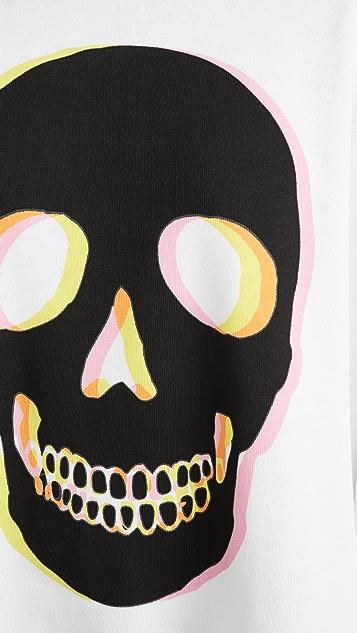 Wildfox Толстовка Glow Skull Roadtrip