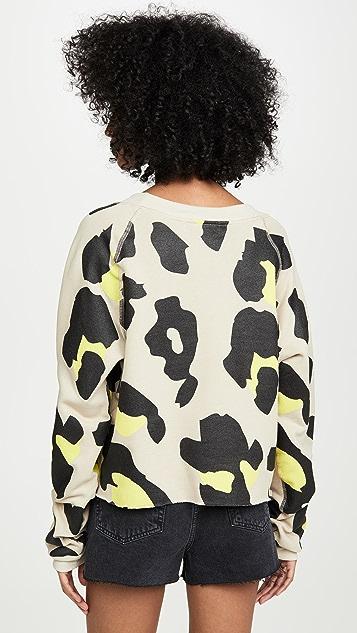 Wildfox Jumbo Leopard Sweatshirt