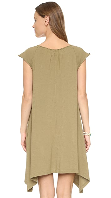 Wilt Flutter Peasant Dress